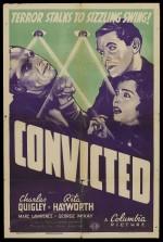 Convicted (1938) afişi