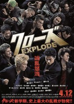 Crows Explode (2014) afişi