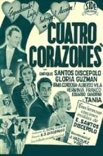 Cuatro corazones (1939) afişi