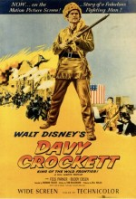 Davy Crockett, King Of The Wild Frontier (1955) afişi