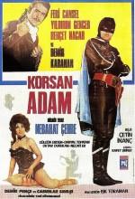Demir Pençe Korsan Adam (1969) afişi