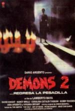 Demons 2 (1986) afişi