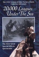 Deniz Altında 20.000 Fersah (1916) afişi