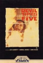 Devil Times Five (1974) afişi
