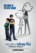 Saftirik Greg'in Günlüğü: Rodrick Kuralları (2011) afişi