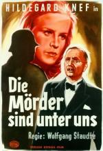 Die Mörder Sind Unter Uns (1946) afişi