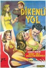 Dikenli Yol (ı) (1958) afişi