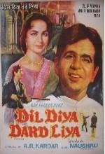 Dil Diya Dard Liya (1966) afişi
