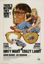 Dirty Mary Crazy Larry (1974) afişi
