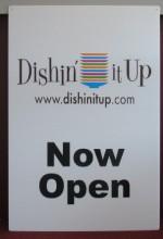 Dishin' It Up! (2010) afişi