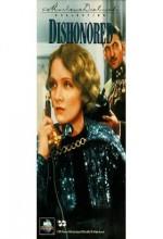 Dishonored (1931) afişi