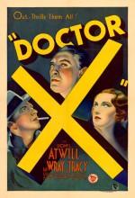Doktor X (1932) afişi