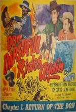 Don Daredevil Rides Again (1951) afişi