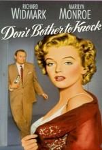 Don't Bother To Knock (1952) afişi