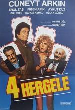 Dört Hergele (1987) afişi