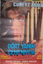 Dört Yanım Cehennem (1982) afişi