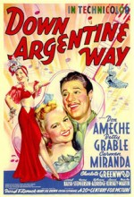 Down Argentine Way (1940) afişi
