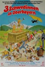 Drei Schwedinnen In Oberbayern (1977) afişi