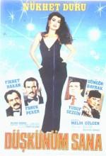 Düşkünüm Sana (1982) afişi