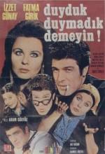 Duyduk Duymadık Demeyin (1970) afişi