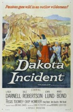 Dakota Incident (1956) afişi