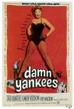 Damn Yankees (1958) afişi