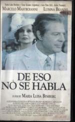De eso no se habla (1993) afişi