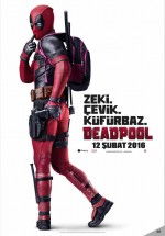 Deadpool (2016) afişi