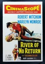 Dönüşü Olmayan Nehir (1954) afişi