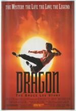 Ejder:bruce Lee'nin Hayatı (1993) afişi