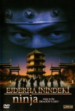 Ejderha İnindeki Ninja (1982) afişi