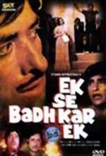 Ek Se Badhkar Ek (1976) afişi