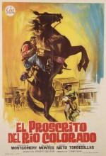 El Proscrito Del Río Colorado (1965) afişi