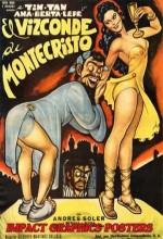 El Vizconde De Montecristo (1954) afişi