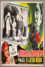 El ánima Del Ahorcado Contra El Latigo Negro (1959) afişi