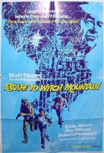 Escape To Witch Mountain (1975) afişi