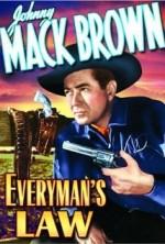 Everyman's Law (1936) afişi