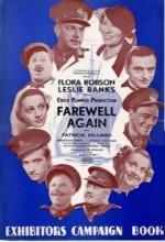 Farewell Again (1937) afişi