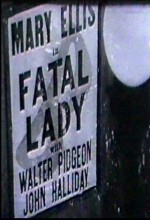 Fatal Lady (1936) afişi