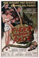 Fiend Without A Face (1958) afişi