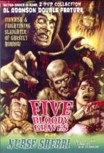 Five Bloody Graves (1970) afişi