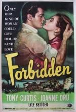 Forbidden (1953) afişi