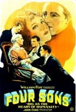 Four Sons (1928) afişi