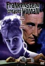 Frankenstein Created Woman (1967) afişi