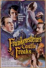 Frankenstein's Castle Of Freaks (1974) afişi