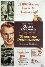 Friendly Persuasion (1956) afişi