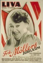 Frk. Møllers Jubilæum (1937) afişi