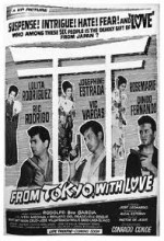 From Tokyo With Love (1964) afişi