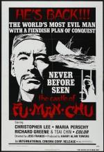 Fu Manchu'nun Kalesi (1969) afişi