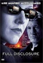 Full Disclosure (2001) afişi